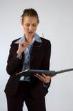 Mulher de negócio Imagem de Stock Royalty Free