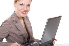 A mulher de negócio imagens de stock