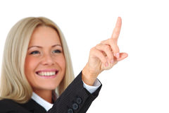 Mulher de negócio Fotos de Stock Royalty Free