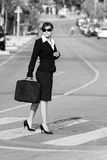 Mulher de negócio Fotografia de Stock