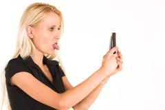 Mulher de negócio #377 Imagens de Stock
