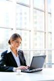 Mulher de negócio Foto de Stock