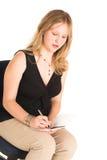 Mulher de negócio #504 Imagem de Stock Royalty Free
