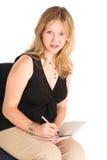 Mulher de negócio #505 foto de stock royalty free
