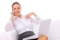 Mulher de negócio Foto de Stock Royalty Free