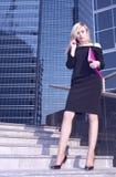 Mulher de negócio Fotos de Stock