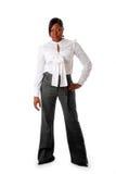 Mulher de negócio africana resistente Imagem de Stock Royalty Free