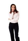 Mulher de negócio amável Imagem de Stock
