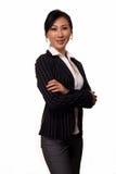 Mulher de negócio asiática Foto de Stock