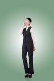 Mulher de negócio asiática confiável Fotos de Stock