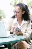Mulher de negócio asiática nova fotos de stock royalty free