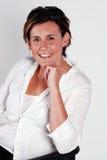 Mulher de negócio bem sucedida foto de stock royalty free