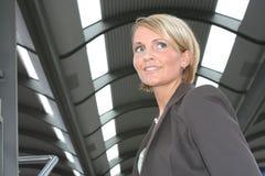 Mulher de negócio bonita Fotos de Stock