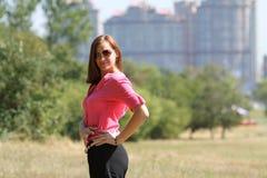 Mulher de negócio bonita Imagens de Stock Royalty Free