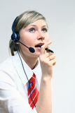 Mulher de negócio bonita Imagem de Stock Royalty Free