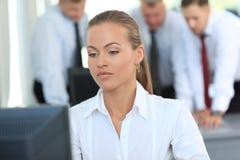Mulher de negócio bonita nova Imagens de Stock Royalty Free