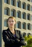 Mulher de negócio confiável fotografia de stock