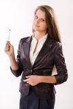 Mulher de negócio confiável imagens de stock
