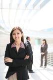 Mulher de negócio consideravelmente asiática Imagens de Stock Royalty Free