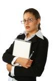 Mulher de negócio da beleza Imagens de Stock