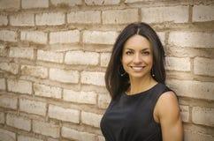 Mulher de negócio de sorriso bonita fotos de stock royalty free