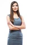 Mulher de negócio de sorriso bonita Foto de Stock Royalty Free