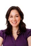 Mulher de negócio de sorriso feliz Imagem de Stock