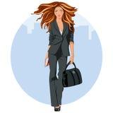 Mulher de negócio elegante Imagem de Stock