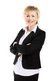 Mulher de negócio em seu 40s Fotos de Stock Royalty Free