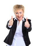 Mulher de negócio em seu 40s Foto de Stock