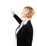 Mulher de negócio em seu 40s Imagens de Stock