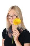 Mulher de negócio encantador nova Fotos de Stock