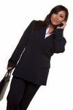 Mulher de negócio espanhola foto de stock