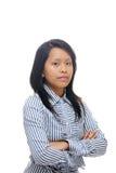 Mulher de negócio esperta Imagem de Stock