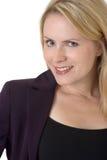 Mulher de negócio loura Imagens de Stock Royalty Free