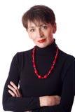 Mulher de negócio maduro Fotografia de Stock
