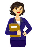 Mulher de negócio maduro ilustração stock