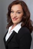 Mulher de negócio moderna Fotos de Stock Royalty Free
