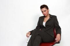 mulher de negócio moderna Foto de Stock Royalty Free