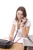 Mulher de negócio no escritório Foto de Stock