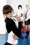 A mulher de negócio nova Imagens de Stock