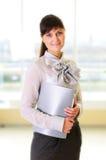 Mulher de negócio nova Fotografia de Stock Royalty Free