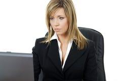 Mulher de negócio nova Imagens de Stock
