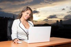 Mulher de negócio nova Fotografia de Stock