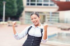 Mulher de negócio nova bem sucedida Imagem de Stock Royalty Free