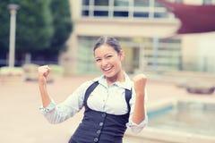 Mulher de negócio nova bem sucedida Imagem de Stock