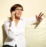 Mulher de negócio nova confiável Fotografia de Stock