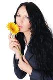 Mulher de negócio nova encantador imagem de stock royalty free