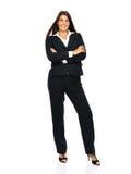 Mulher de negócio nova feliz Fotografia de Stock Royalty Free