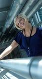Mulher de negócio ocasional Imagens de Stock